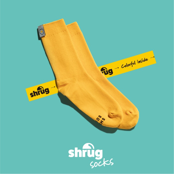shrug(socks)
